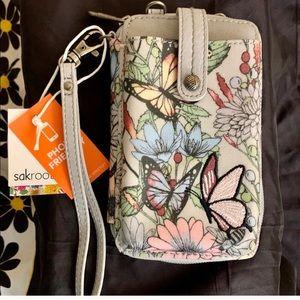 Sakroots In Bloom Phone Holder Wallet